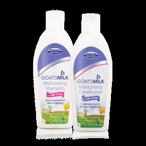 Natural Secrets Goats Milk Shampoo And Conditioner Bundle